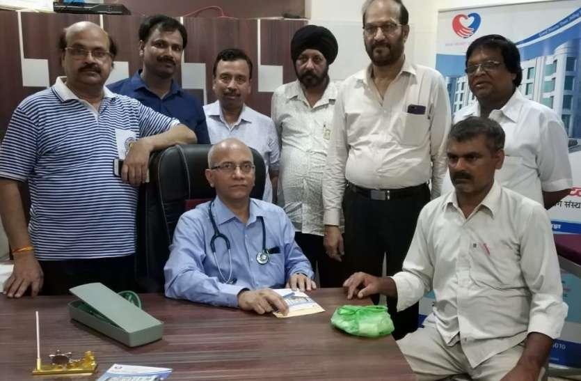युवा वर्ग में डायबिटीज एवं उच्च रक्तचाप के कारण बढ़ रही है हार्ट की समस्या - डॉक्टर पंकज श्रीवास्तव