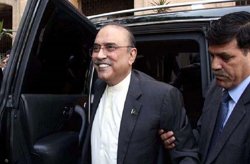 पाकिस्तान: NAB ने फर्जी बैंक खातों के मामले में पूर्व राष्ट्रपति आसिफ अली जरदारी को गिरफ्तार किया