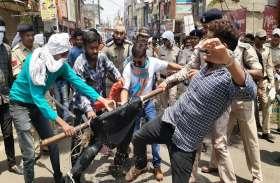 बिजली कटौती से गुस्साए भाजयुमो कार्यकर्ताओं ने फूंका CM का पुतला, पूछा भूल गए क्या वादा, Video