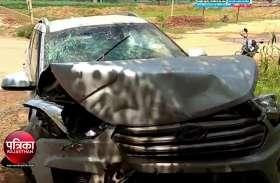 कार ट्रोले से टकराई, हाइकोर्ट के पूर्व उप रजिस्ट्रार समेत दो की मौत