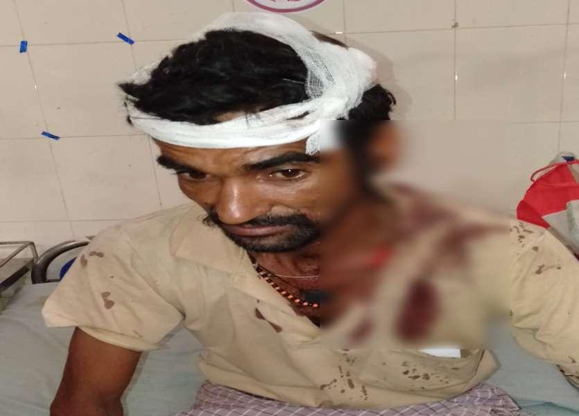 Injured in land dispute