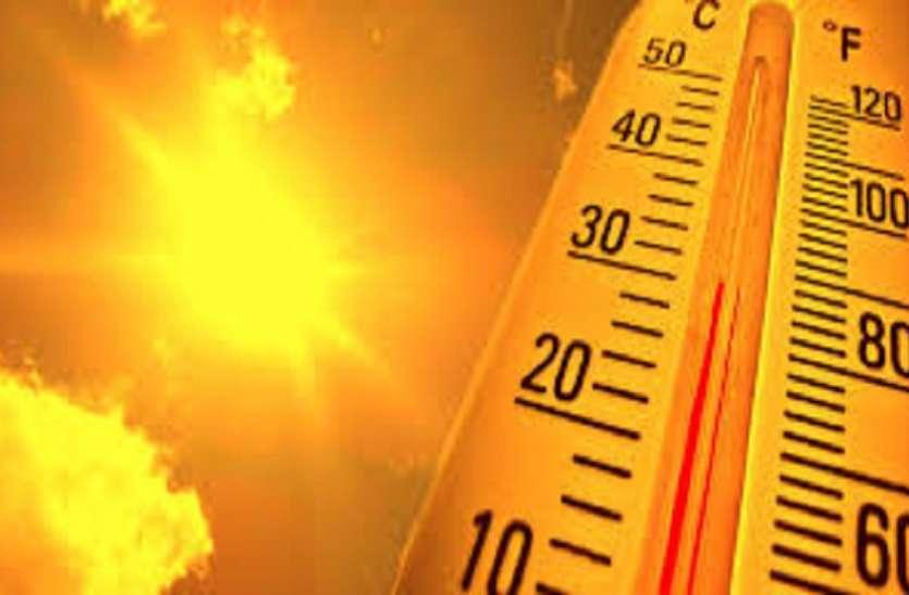 गर्मी से अगले एक सप्ताह तक राहत मिलने के नहीं है आसार