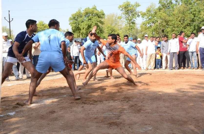 खाकी ने खेलों में दिखाया दमखम, उद्घाटन मैच में जीता हनुमानगढ़