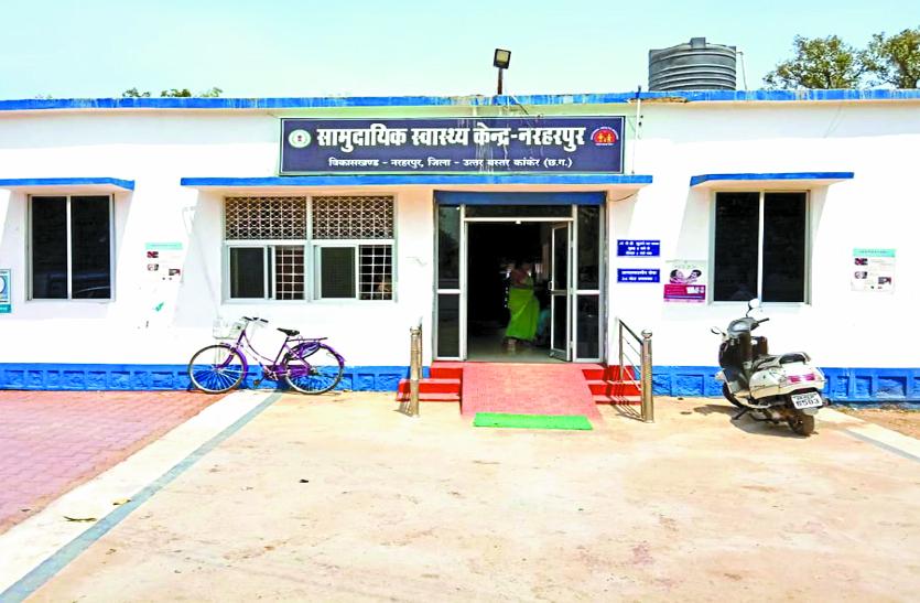 नरहरपुर सीएचसी में दस बजे तक नहीं आते डॉक्टर और कर्मचारी, मरीज परेशान