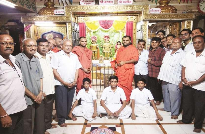 गुजराती समाज की धरोहर है स्वामीनारायण मंदिर
