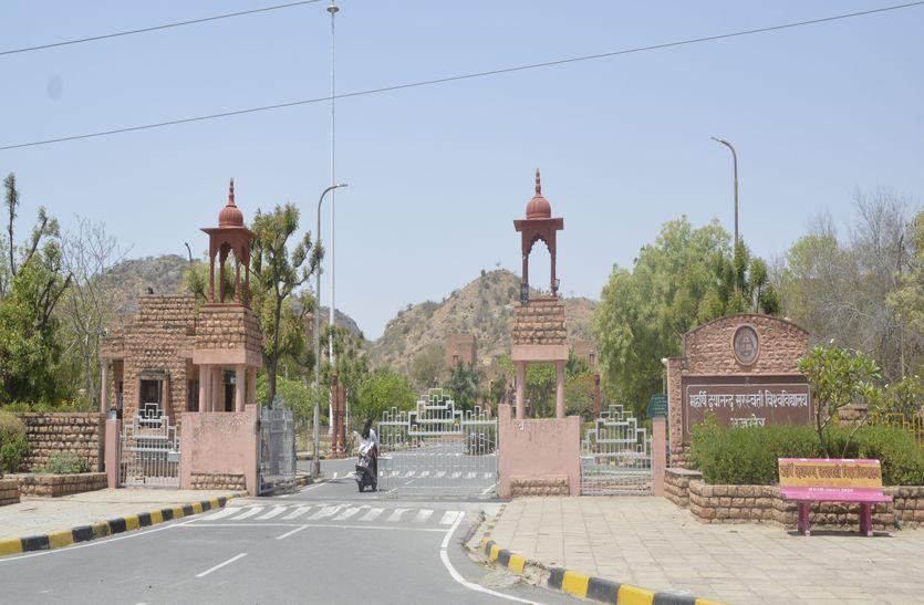 खतरे में राजस्थान की यह यूनिवर्सिटी, किसी को नहीं है फिक्र