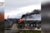 Video: पूर्वी लंदन की इमारत में भीषण आग, दमकल विभाग की 100 गाड़ियां मौके पर हुईं तैनात