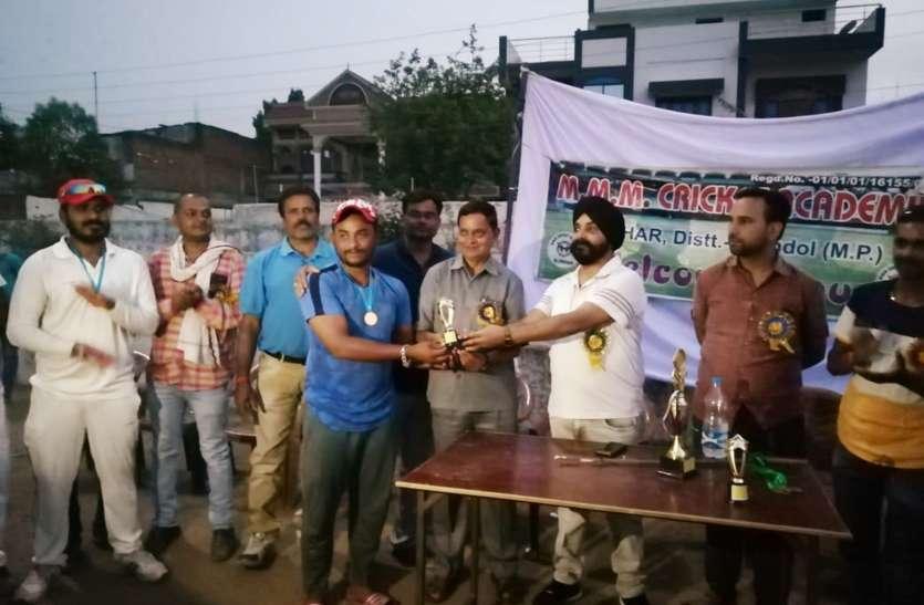 बीसीसीआई पैनल एम्पायर के प्रयास से आईपीएल की तर्ज पर खेला गया बीपीएल मैच