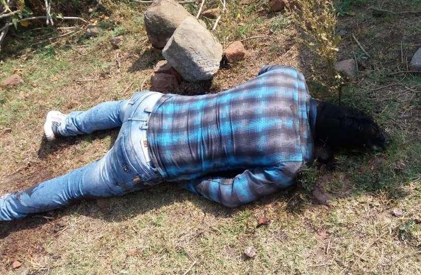 युवक की मिली लाश, हत्या की आशंका, नहीं हो सकी पहचान