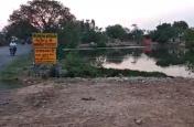 सरकारी तालाब पर भू-माफियाओं का कब्जा, सीएम से शिकायत के बाद भी भूमाफिया हावी
