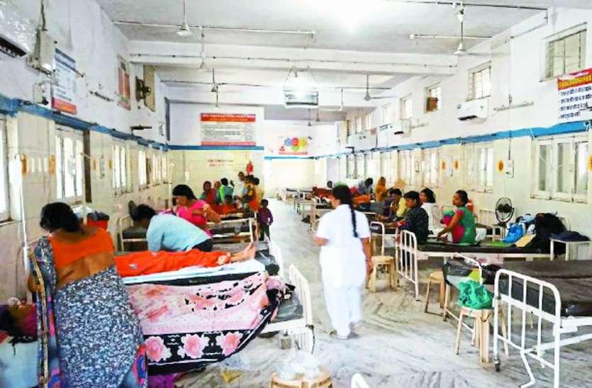 हाल-ए-जिला अस्पताल: 11 दिन में 116 महिलाओं को बिना इलाज के छोड़ा सरकारी पलंग