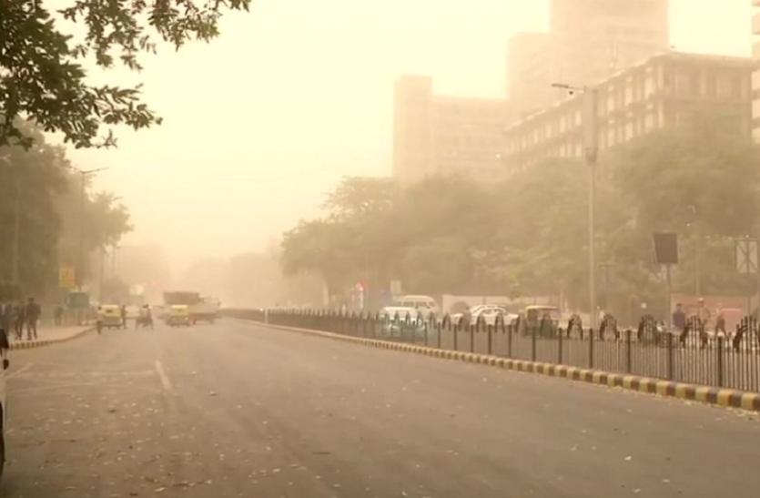 पाकिस्तान से आया धूल का बवंडर, दिल्ली-एनसीआर में चली तेज आंधी और बारिश