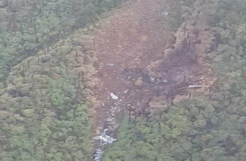 लापता AN-32 का मिला मलबा , 13 लोगों की तलाश में वायु सेना ने क्रैश साइट पर एयरड्रॉप किए जवान