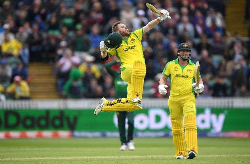 विश्व कप क्रिकेट : जीत की उम्मीद जगाकर हारा पाकिस्तान, ऑस्ट्रेलिया 41 रन से जीता