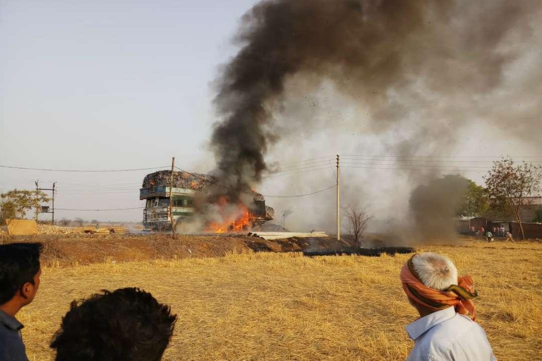 Truck Burn