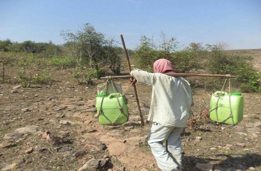 खदान मालिकों की चांदी, नक्सल क्षेत्र में बिन पानी सूनी हुई जिंदगानी