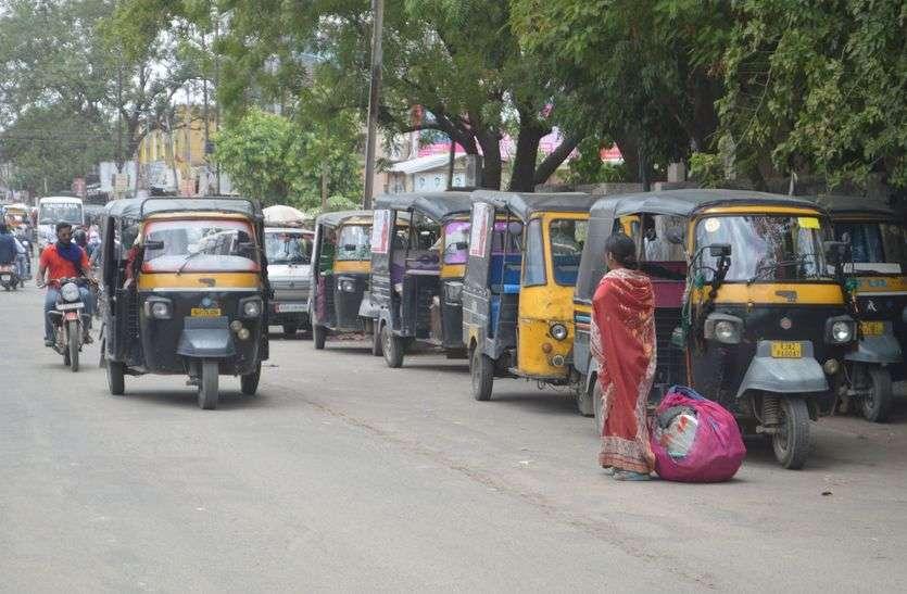 किशनगढ़ में अब नहीं चलेंगे बिना परमिट के टैम्पो