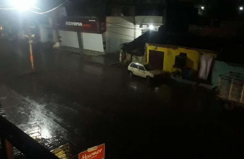Pre Monsoon 2019 : इस शहर में सुबह 3 बजे तेज हवा के साथ हुई 15 मिनट झमाझम बारिश