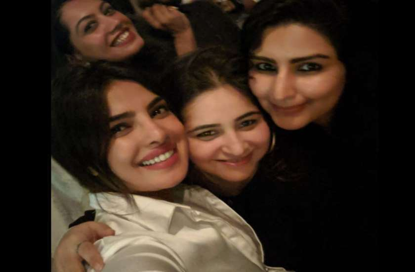 The Sky Is Pink Shooting Over Priyanka Chopra wrap up party photos