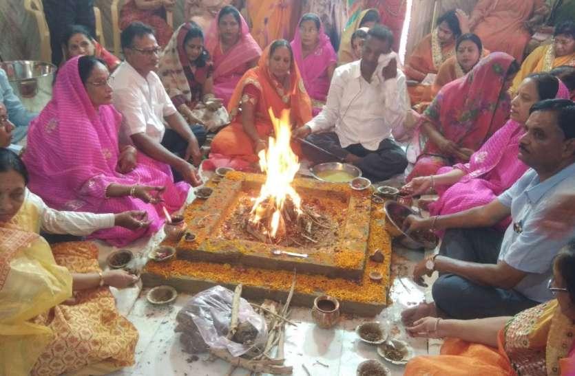 सिंघवी भाईपा संगठन के पाटोत्सव में दी हवन में आहुतियां, देखें वीडियो