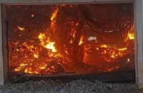 छत्तीसगढ़ में नक्सलियों ने तेंदूपत्ता गोदाम में लगाया आग, करोड़ों का हुआ नुकसान