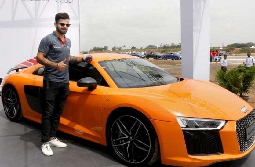 World Cup 2019 में तूफानी पारी खेल रहे विराट कोहली के पास है लग्जरी कारों का जखीरा