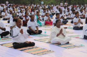 अंतर्राष्ट्रीय योग दिवस पर पीएम के कार्यक्रम को लेकर कर्टन रेजर