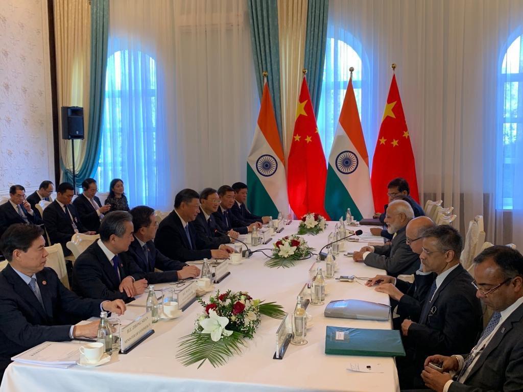 SCO Summit Prime Minister Narendra Modi Holds Delegation Level Talks With  China President Xi Jinping - बिश्केक में मोदी ने जिनपिंग को बताया- आतंक  मुक्त वातावरण नहीं बना पा रहे पाक से