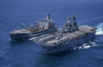 ओमान की खाड़ी में दूसरी बार तेल टैंकरों पर हमला, मदद के लिए पहुंची अमरीकी नौसेना