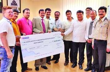 जैनम फाउंडेशन का हृदय रोगियों को सहयोग