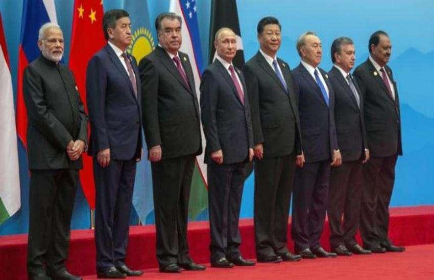 शंघाई सहयोग संगठन के सदस्य देशों के प्रतिनिधि