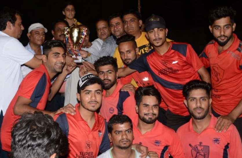 सिंधु प्रीमियर लीग : सुपर स्ट्राईकर ने बहोत हार्ड क्लब को हराकर एसपीएल कप अपने नाम किया