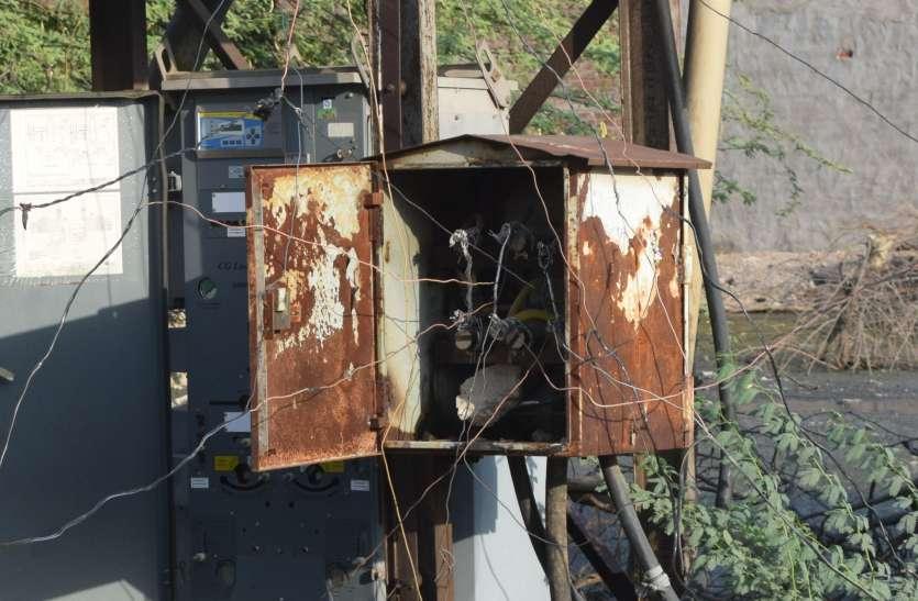 नहीं रुक रही बिजली चोरी, प्रदेश में अव्वल धौलपुर