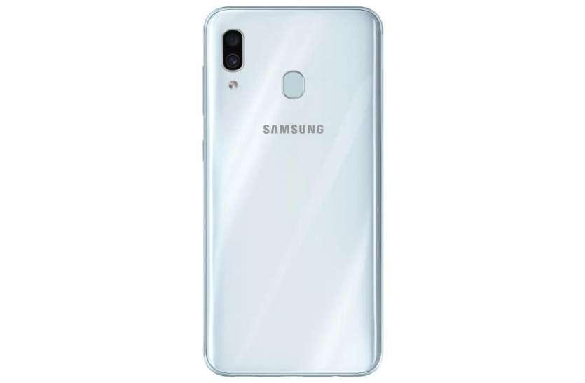 Samsung Galaxy A30 अब सफेद रंग में हुआ उपलब्ध, जानें फीचर्स