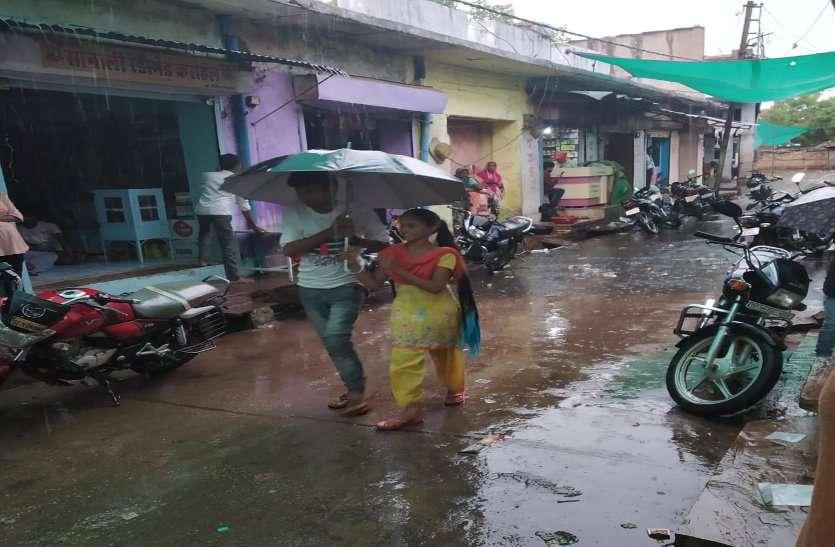 तपती धरा पर बरसी राहत की बूंदें, प्री-मानसून की हुई बारिश