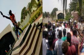 RANCHI: शहीद बिरसा मुंडा की प्रतिमा क्षतिग्रस्त, विरोध में आदिवासी संगठनों ने कल बुलाया रांची बंद