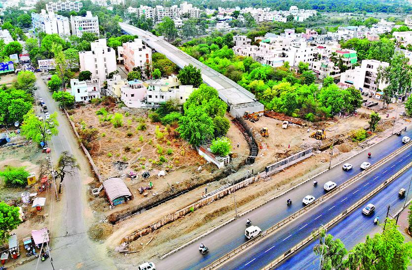 बावडि़या रेलवे ओवरब्रिज: रोटरी नहीं बनाई गई, लगेगा जाम