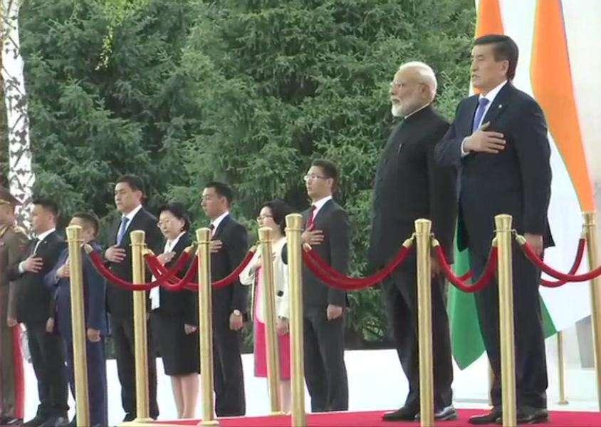 PM Modi in Kyrgyzstan