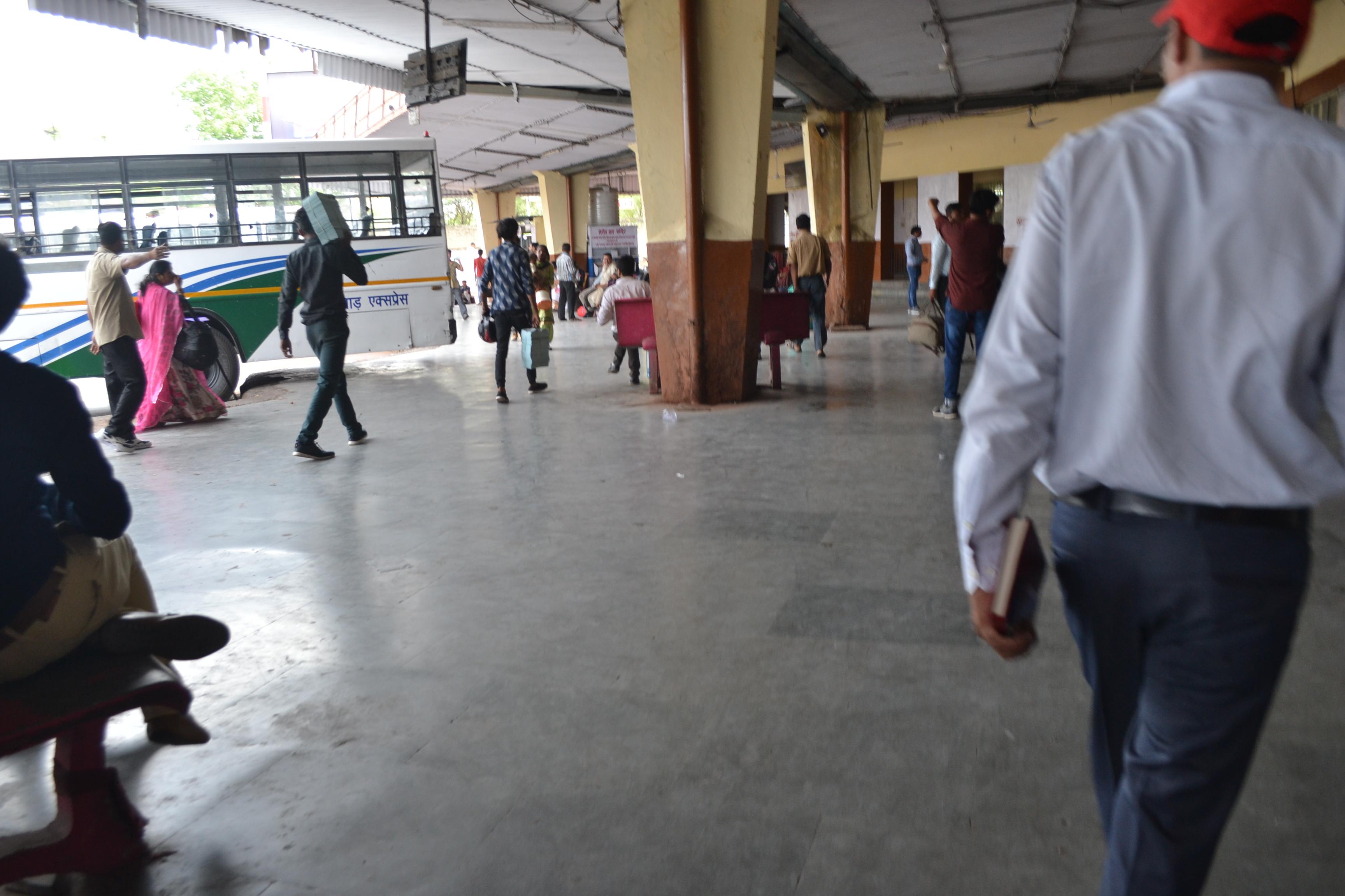 Patrika Impact: passengers को नसीब हुआ ठंडा पानी, यूं चमकने लगा बस स्टैंड