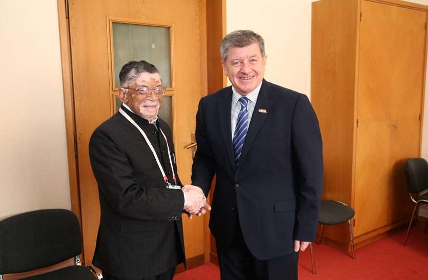Union Minister Santosh Gangwar joined the ILO 108th session in Geneva