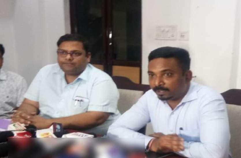 रायपुर के नए कलेक्टर ने अधिकारियों से कहा - जनता के कामों को पहली प्राथमिकता दी जाए