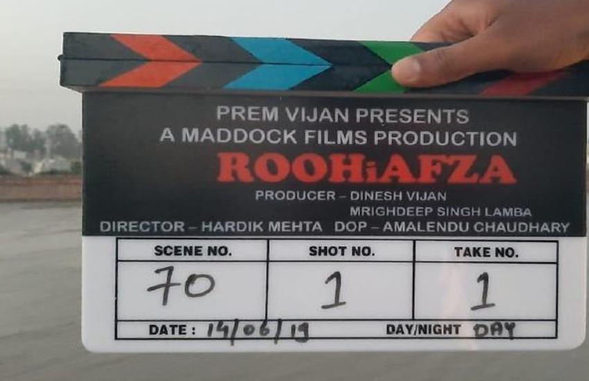 शुरू हई 'रूह अफजा' की शूटिंग, कुछ भी मीठा नहीं होगा, सिर्फ दिलों पर कब्जा और..
