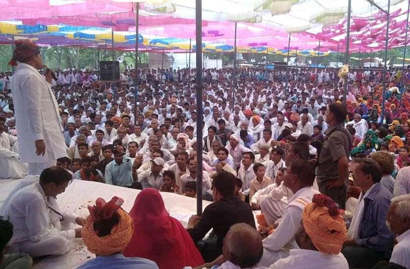 जैरदा सिद्ध बाबा मेले में पहुंचे मंत्री रमेश मीना, कलाकारों ने प्रस्तुत की धार्मिक रचनाएं