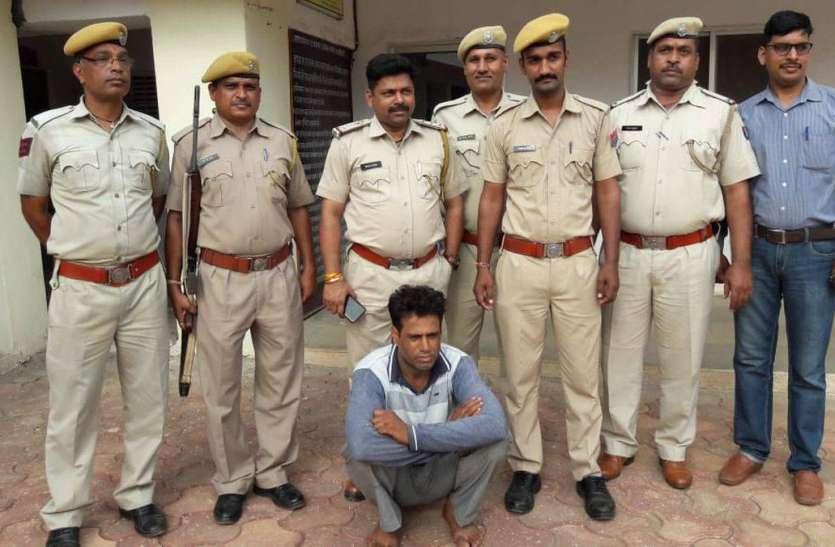 दुकान में सोए युवक की हत्या का आरोपी गिरफ्तार