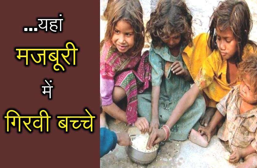 NHRC notice to Gehlot Government: राजस्थान में अब 'भूख संकट'! बच्चों को गिरवी रखने को मजबूर 500 परिवार