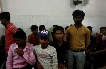 28 बाल मजदूर को मुक्त कराकर कमरे में किया बंद, बिगड़ी तबियत, श्रम विभाग की कार्यवाही