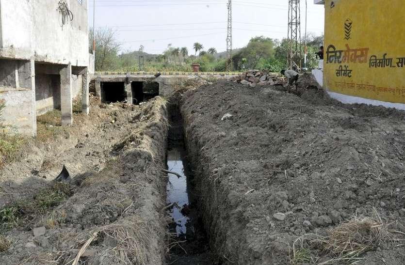 डूंगरपुर शहर के जल स्त्रोतों पर फिर आई आफत