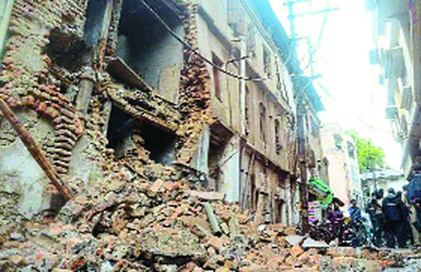 शहर के109 खतरनाक मकानों में से सबसे पहले26 को तोड़ेगा निगम