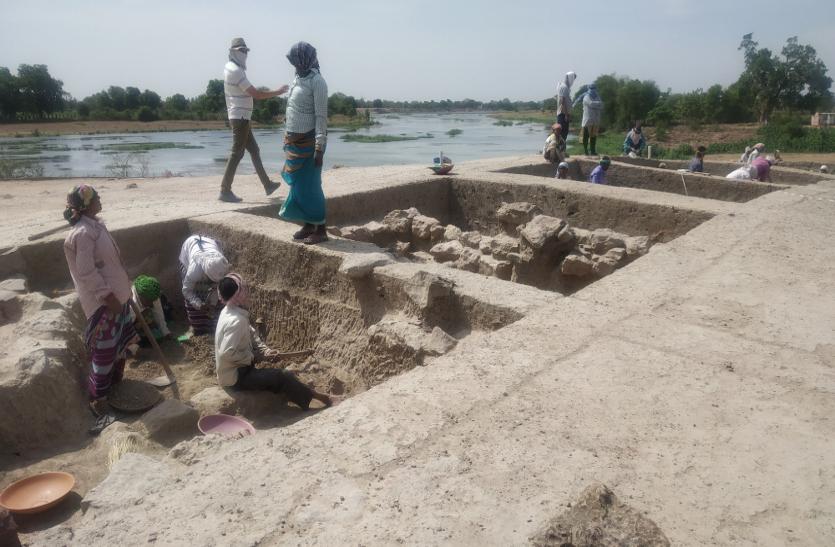 Chhattisgarh में मिली प्राचीन शहर की संरचना व 2000 साल पुराने सिक्के, कुषाण सभ्यता से है नाता