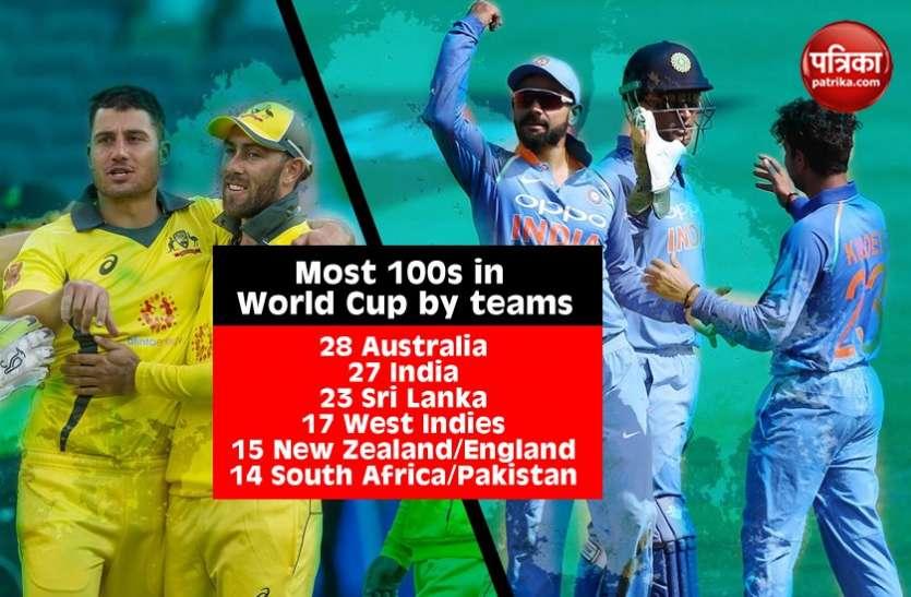 Cricket WC Record: AUS vs SL वर्ल्ड कप में कंगारूओं ने भारत को पछाड़ा, फिंच ने की स्टीव वॉ की बराबरी